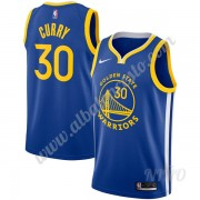 Camisetas NBA Niños Golden State Warriors 2019-20 Stephen Curry 30# Azul Icon Edition Swingman..