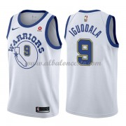 Camisetas Baloncesto NBA Golden State Warriors 2018  Andre Iguodala 9# White Hardwood Classics..