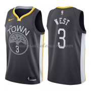 Camisetas Baloncesto NBA Golden State Warriors 2018  David West 3# Statement Edition..