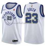 Camisetas Baloncesto NBA Golden State Warriors 2018  Draymond Green 23# White Hardwood Classics..