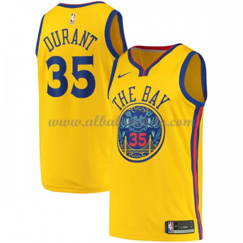 promo code 1e935 8889f Camisetas Baloncesto NBA Golden State Warriors 2018 Kevin Durant 35  City  Edition