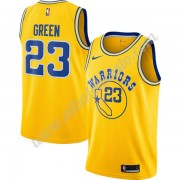 Camisetas Baloncesto NBA Golden State Warriors 2019-20 Draymond Green 23# Oro Hardwood Classics Swin..