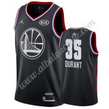 Camisetas NBA Baratas Golden State Warriors 2019 Kevin Durant 35# Negro All Star Game Swingman