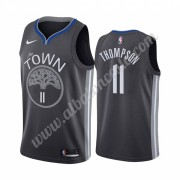 Camisetas Baloncesto NBA Golden State Warriors 2019-20 Klay Thompson 11# Negro City Edition Swingman..