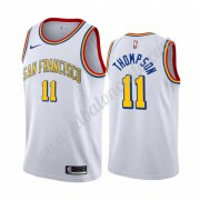 Camisetas Baloncesto NBA Golden State Warriors 2019-20 Klay Thompson 11# Blanco Classics Edition Swi..