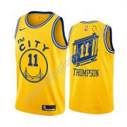 Camisetas Baloncesto NBA Golden State Warriors 2019-20 Klay Thompson 11# Amarillo Classics Edition S..