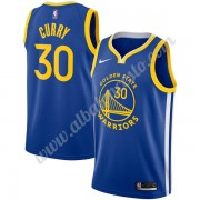 Camisetas Baloncesto NBA Golden State Warriors 2019-20 Stephen Curry 30# Azul Icon Edition Swingman..