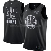 Golden State Warriors Kevin Durant 35# Black 2018 All Star Game Swingman Basketball Jersey..
