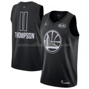 Golden State Warriors Klay Thompson 11# Black 2018 All Star Game Swingman Basketball Jersey..