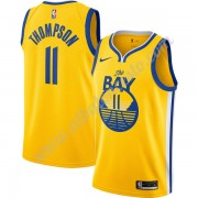 Camisetas Baloncesto NBA Golden State Warriors 2019-20 Klay Thompson 11# Oro Finished Statement Edit..