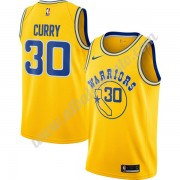 Camisetas Baloncesto NBA Golden State Warriors 2019-20 Stephen Curry 30# Oro Hardwood Classics Swing..