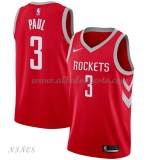 Camisetas Baloncesto Niños Houston Rockets 2018 Chris Paul 3# Icon Edition