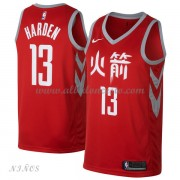 Camisetas Baloncesto Niños Houston Rockets 2018 James Harden 13# City Edition..