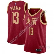 Camisetas NBA Niños Houston Rockets 2019-20 James Harden 13# Rojo City Edition Swingman..