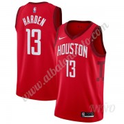 Camisetas NBA Niños Houston Rockets 2019-20 James Harden 13# Rojo Earned Edition Swingman..