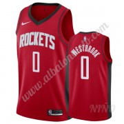 Camisetas NBA Niños Houston Rockets 2019-20 Russell Westbrook 0# Rojo Icon Edition Swingman..