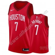 Camisetas NBA Niños Houston Rockets 2019-20 Carmelo Anthony 7# Rojo Earned Edition Swingman..
