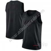 Camisetas NBA Niños Houston Rockets James Harden 13# Negro MVP Swingman..
