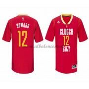 Camisetas Baloncesto NBA Houston Rockets 2015-16 Dwight Howard 12# Pride..