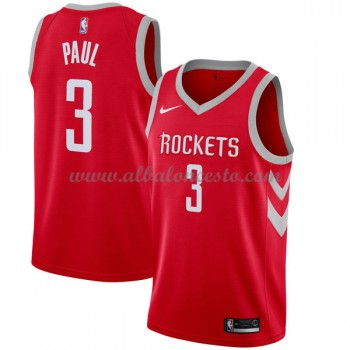 Camisetas Baloncesto NBA Houston Rockets 2018  Chris Paul 3# Icon Edition