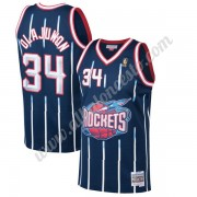 Camisetas Baloncesto NBA Houston Rockets 1996-97 Hakeem Olajuwon 34# Armada Hardwood Classics Swingm..