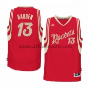 Camisetas NBA Baratas Houston Rockets 2015 James Harden 13# Baloncesto Wars Navidad..