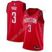 Camisetas Baloncesto NBA Houston Rockets 2019-20 Chris Paul 3# Rojo Earned Edition Swingman..