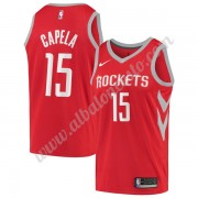 Camisetas Baloncesto NBA Houston Rockets 2019-20 Clint Capela 15# Rojo Icon Edition Swingman..