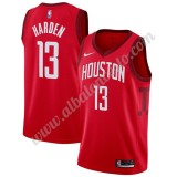 Camisetas Baloncesto NBA Houston Rockets 2019-20 James Harden 13# Rojo Earned Edition Swingman