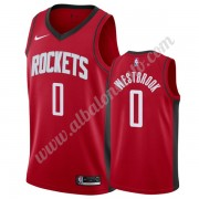 Camisetas Baloncesto NBA Houston Rockets 2019-20 Russell Westbrook 0# Rojo Icon Edition Swingman..