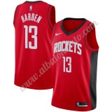 Camisetas Baloncesto NBA Houston Rockets 2019-20 James Harden 13# Rojo Icon Edition Swingman