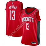 Camisetas Baloncesto NBA Houston Rockets 2019-20 James Harden 13# Rojo Icon Edition Swingman..