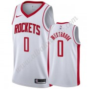 Camisetas Baloncesto NBA Houston Rockets 2019-20 Russell Westbrook 0# Blanco Association Edition Swi..