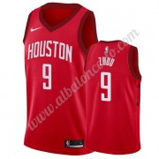 Camisetas Baloncesto NBA Houston Rockets 2019-20 Zhou Qi 9# Rojo Earned Edition Swingman..
