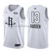 Houston Rockets James Harden 13# White 2018 All Star Game Swingman Basketball Jersey..