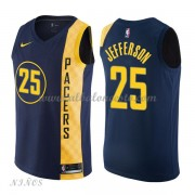 Camisetas Baloncesto Niños Indiana Pacers 2018 Al Jefferson 25# City Edition..