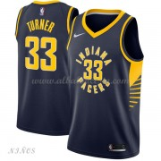 Camisetas Baloncesto Niños Indiana Pacers 2018 Myles Turner 33# Icon Edition..