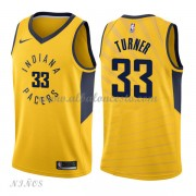 Camisetas Baloncesto Niños Indiana Pacers 2018 Myles Turner 33# Statement Edition..