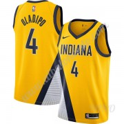 Camisetas NBA Niños Indiana Pacers 2019-20 Victor Oladipo 4# Oro Finished Statement Edition Swingman..