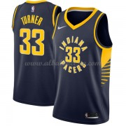 Camisetas Baloncesto NBA Indiana Pacers 2018  Myles Turner 33# Icon Edition..