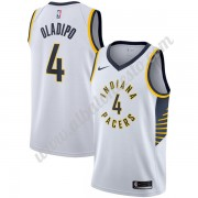 Camisetas Baloncesto NBA Indiana Pacers 2018  Victor Oladipo 4# Association Edition..