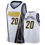 Camisetas Baloncesto NBA Indiana Pacers 2019-20 Doug McDermott 20# Blanco Earned Edition Swingman..