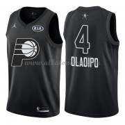 Indiana Pacers Victor Oladipo 4# Black 2018 All Star Game Swingman Basketball Jersey..