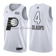 Indiana Pacers Victor Oladipo 4# White 2018 All Star Game Swingman Basketball Jersey..