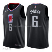 Camisetas Baloncesto Niños Los Angeles Clippers 2018 Deandre Jordan 6# Statement Edition..