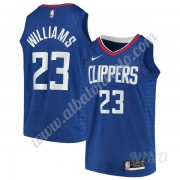 Camisetas NBA Niños Los Angeles Clippers 2019-20 Lou Williams 23# Azul Icon Edition Swingman..