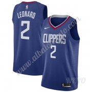 Camisetas NBA Niños Los Angeles Clippers 2019-20 Kawhi Leonard 2# Azul Icon Edition Swingman..
