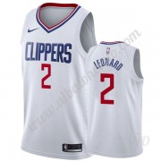 Camisetas NBA Niños Los Angeles Clippers 2019-20 Kawhi Leonard 2# Blanco Association Edition Swingma..