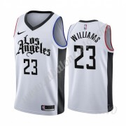 Camisetas NBA Niños Los Angeles Clippers 2019-20 Lou Williams 23# Blanco City Edition Swingman..
