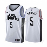 Camisetas NBA Niños Los Angeles Clippers 2019-20 Montrezl Harrell 5# Blanco City Edition Swingman..